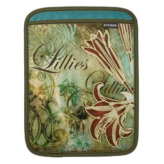 Lillies Sleeve For iPads
