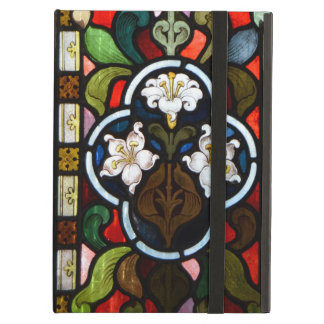 Lillies Stained Glass StColumb Minor Cornwall Case For iPad Air
