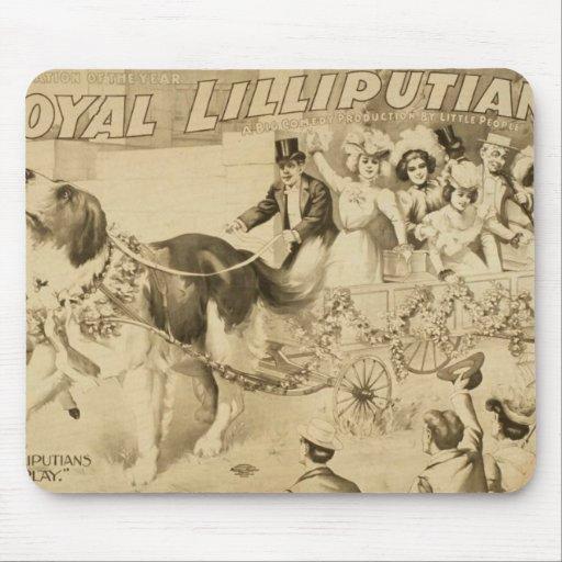 Lilliputians reales, el Lilluputians en Play Alfombrilla De Ratón