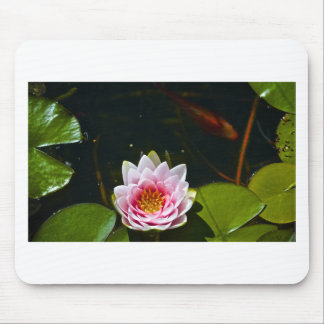 Lilly and Lotus Mouse Pad