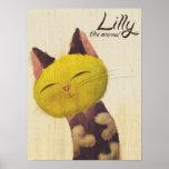 Lilly el poster del gato