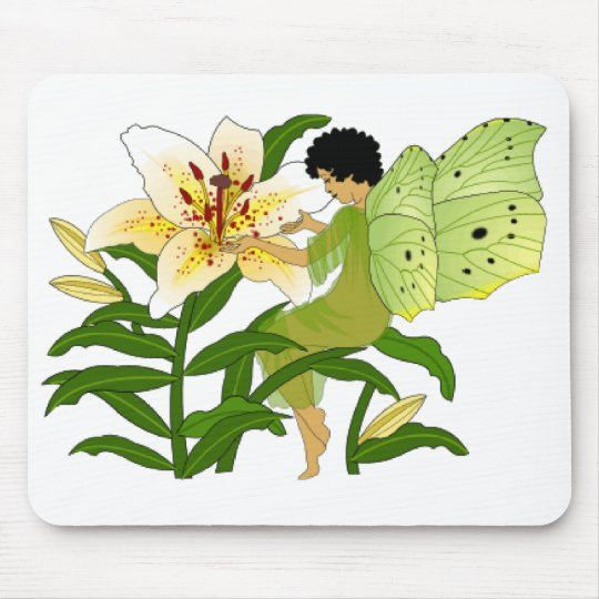 Lilly Fairy Mouse Pad
