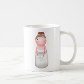 Lilly fastidia la taza pelirroja de la novia