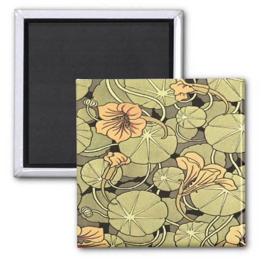 Lilly Flowers Magnet