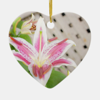 Lilly for a Cure... Breast Cancer Awareness Christmas Ornaments