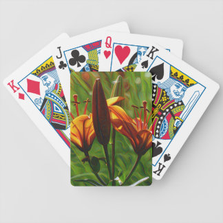 Lilly, Iris, DeepDream style Bicycle Playing Cards