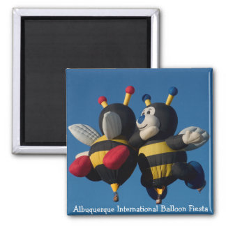 Lilly & Joey - Magents, square 2 Inch Square Magnet