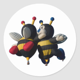 "Lilly & Joey - Stickers, 1 1/2"" Classic Round Sticker"