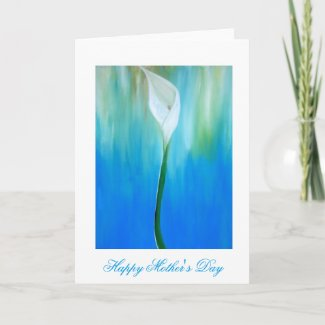 Lilly Mother's Day Card by Alicia L. McDaniel