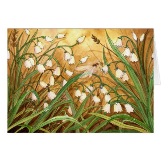 Lilly of the Valley Card