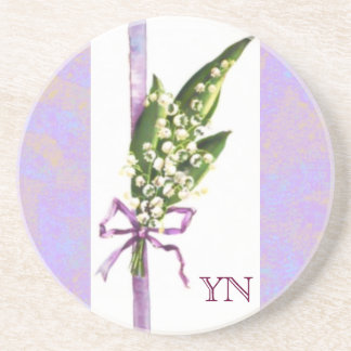 Lilly of the Valley coaster