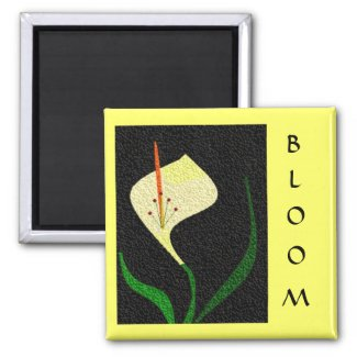 Lilly of the Valley zazzle_magnet