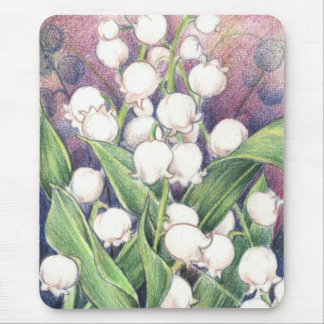 Lilly of the Valley Mouse Pad