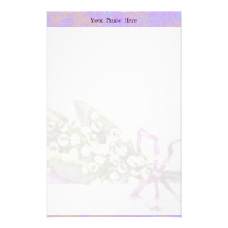 Lilly of the Valley stationery