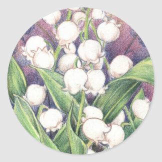 Lilly of the Valley Sticker