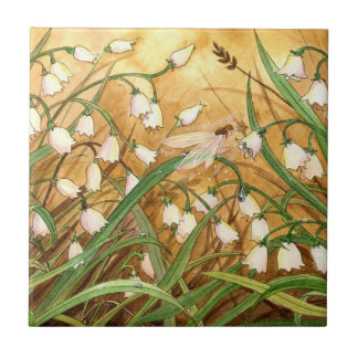 """""""Lilly of the Valley"""" tile"""