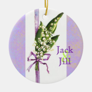 Lilly of the Valley WEDDING ornament