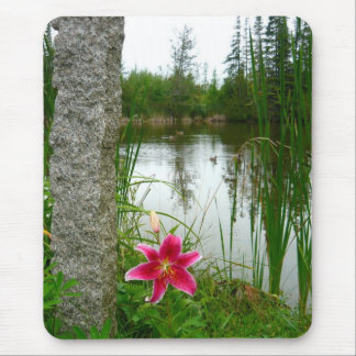 Lilly on Pond Mouse Pad