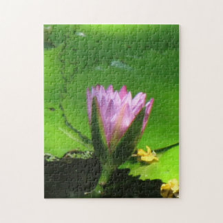"""""""Lilly Pad"""" 10x14 Photo Puzzle"""