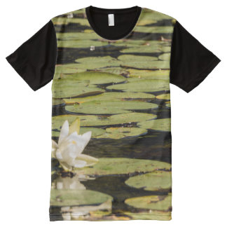 Lilly Pad All-Over-Print T-Shirt