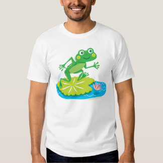 Lilly Pad Frog T-shirt