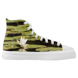 Lilly Pad High-Top Sneakers