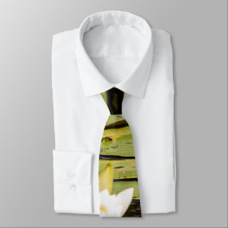 Lilly Pad Neck Tie