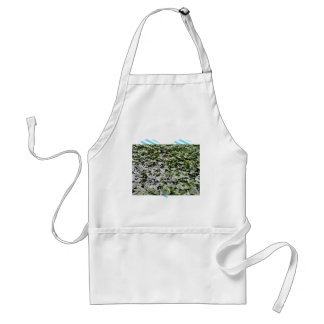 Lilly pads on a pond aprons