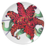Lilly Party Plate
