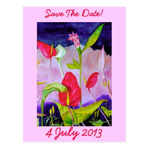 Lilly - Save the Date Postcard