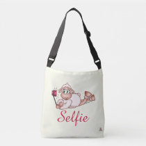Lilly The Sheep Taking Selfie Crossbody Bag