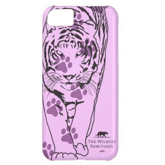 Lilly - Tiger iPhone 5 Case Pink Paws