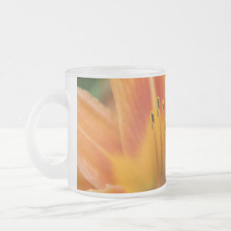 Lilly Transition 10 Oz Frosted Glass Coffee Mug