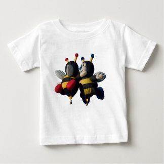 Lilly y Joey - niño, camiseta Playeras