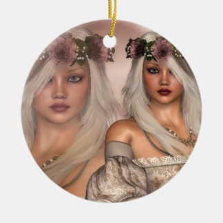 LillyAnne Ceramic Ornament