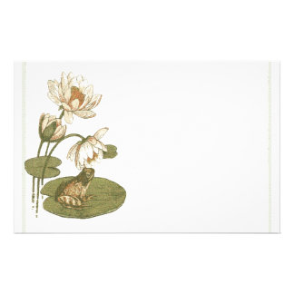 Lillypad and Frog Stationery