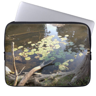 Lillypads Laptop Sleeve Customizable Template Computer Sleeve