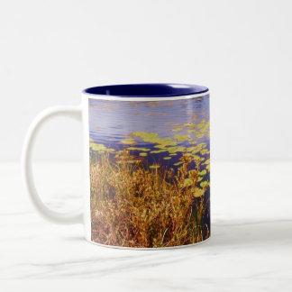 Lillypads Two-Tone Coffee Mug