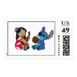 Lilo and Stitch Postage Stamps