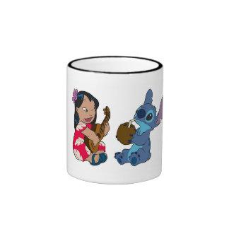 Lilo and Stitch Ringer Mug
