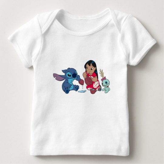 Lilo and Stitch Tea Party Baby T-Shirt