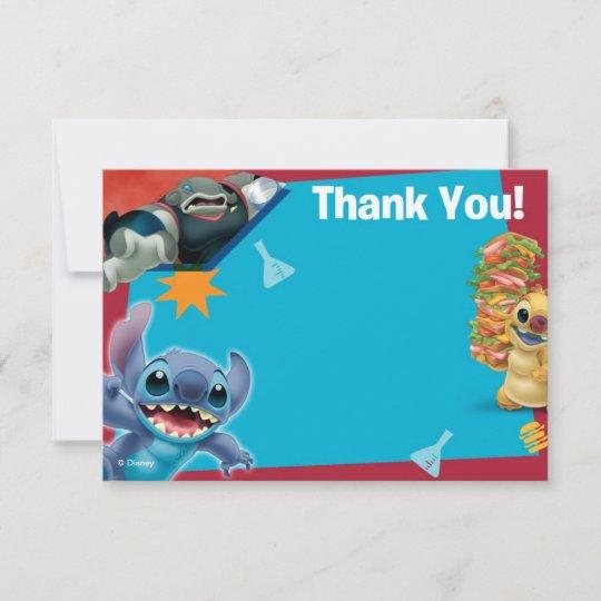 Lilo And Stitch Thank You Cards Zazzle Com
