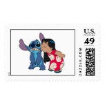 Lilo kisses Stitch Stamp