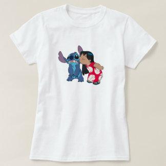 Lilo kisses Stitch T-Shirt