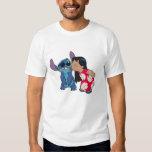 Lilo kisses Stitch T-shirts