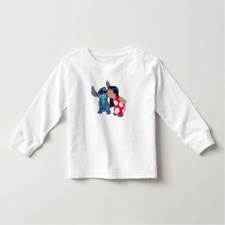 Lilo kisses Stitch Toddler T-shirt