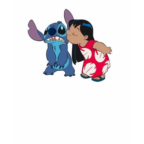 Lilo kisses Stitch shirt