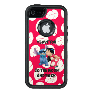 Lilo & Stich | I Love You To The Moon OtterBox Defender iPhone Case