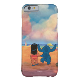 Lilo & Stich |Lilo & Stitch At The Beach Barely There iPhone 6 Case