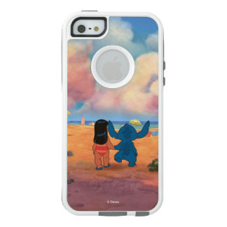 Lilo & Stich |Lilo & Stitch At The Beach OtterBox iPhone 5/5s/SE Case